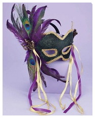 Exotic Peacock Mask