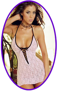 Sexy Plus Size Babydoll Lingerie Dress