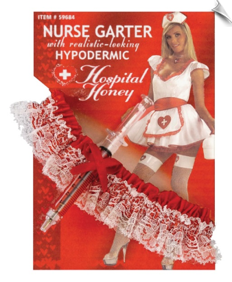 Novelty Nurse Garter