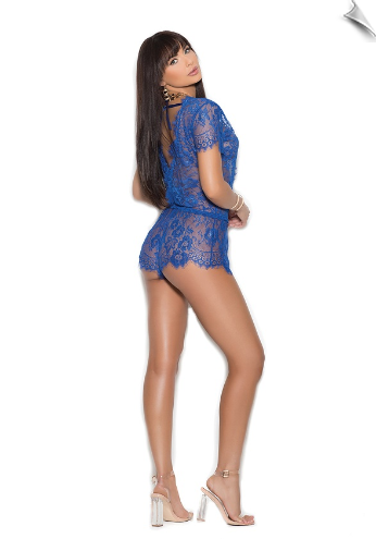 Fancy Lace Romper