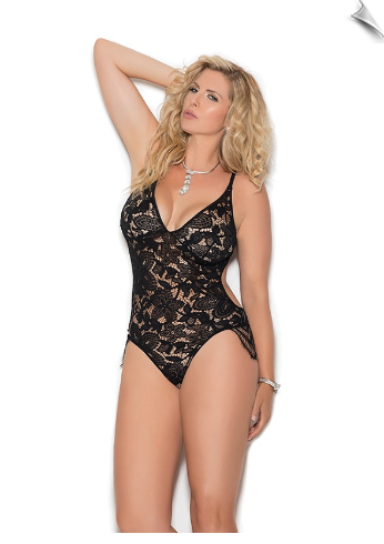 Exciting Lace Teddy