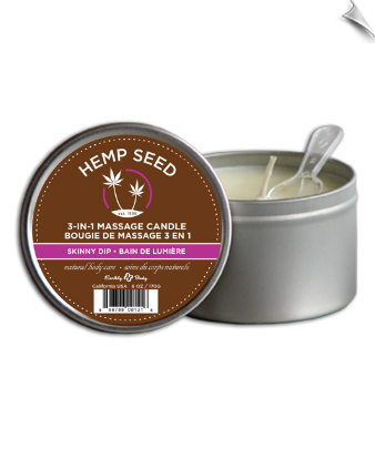 Intense Hemp Oil Candle