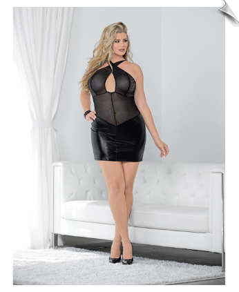 Criss Cross Negligee