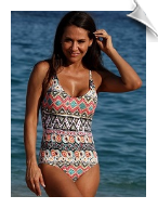 Plus Size One Piece Bathing Suits
