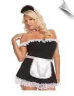 Dressy plus size lingerie costumes and dress-up