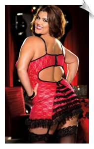 Passionate apparel from Shirley of Hollywood for women of up to plus size 6-x