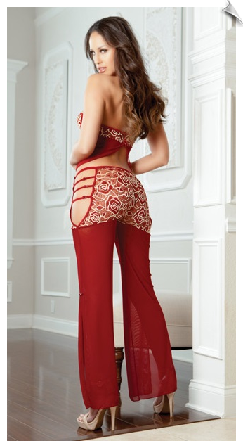 Sexy Long Pant Camisole Set