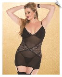 Fancy Garter Negligee