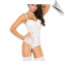 Beautiful Underwire Cup Bridal Bustier Set