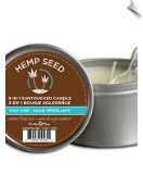 All Natural & Scented Hemp Candle by Earthly Body