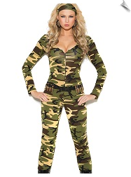 Cute Combat Warrior Jumpsuit