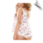 Rosalie tie top and shorts pajama set from Fantasy Lingerie