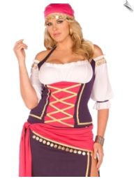 Gaudy Gypsy Maiden Costume