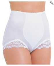 Shaping Brief with Lace Legs & Light Tummy Control