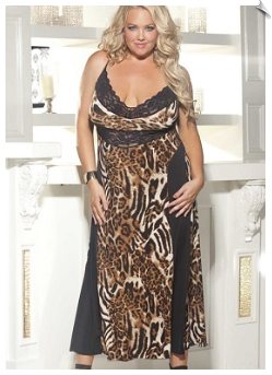 Posh Animal Long Nightgown