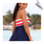 Spunky Dress with Red & White Stripe Bust