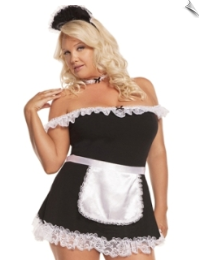 Dressy French Maid Outfit