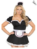 Maid to Please Mini Dress Dress-Up