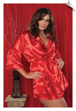 Flawless Satin Lingerie Night Robe