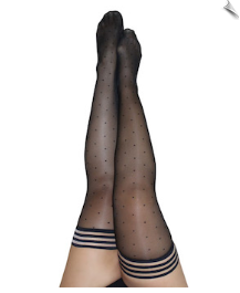 Sassy Spotted Stockings