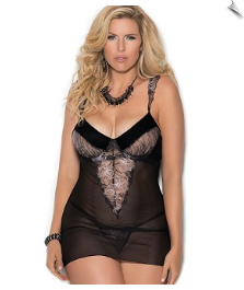 Exquisite Flutter Negligee