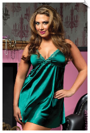 Flawless Satin Nightgown