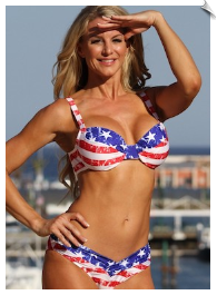 Patriotic Two Piece Calypso